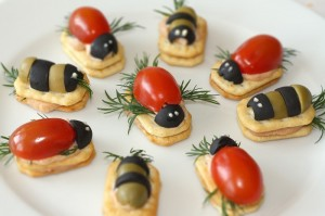 Boružėlių sumuštinukai - boružėlių gimtadieniui