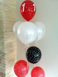 Boružėlių gimtadienis: balionai