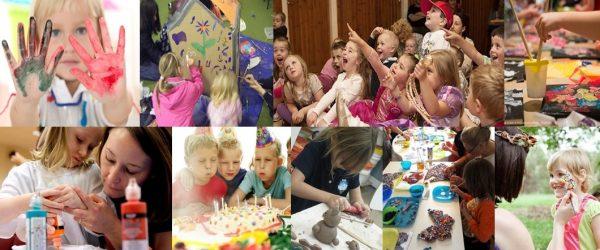 kūrybinės pramogos vaiko gimtadieniui