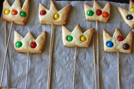 Sausainiai karūnos