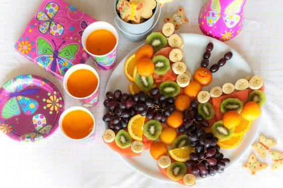 kaip vaikams sudėti vaisius