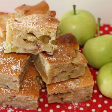 Gimtadienio mugė, paprastas obuolių pyragas