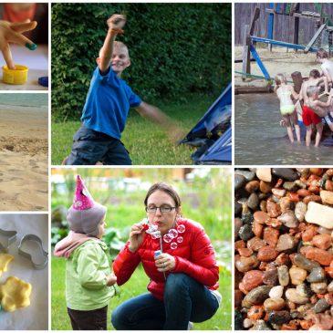 Ką vaikams žaisti lauke