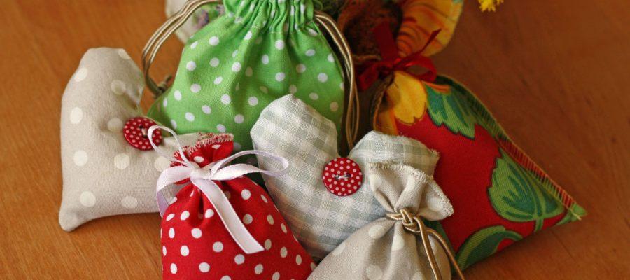 Kvepiantys žolelių maišeliai, gimtadienio mugė