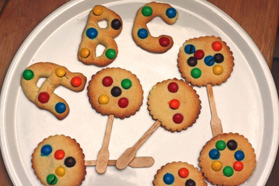 sausainiai sventiniai vaikams