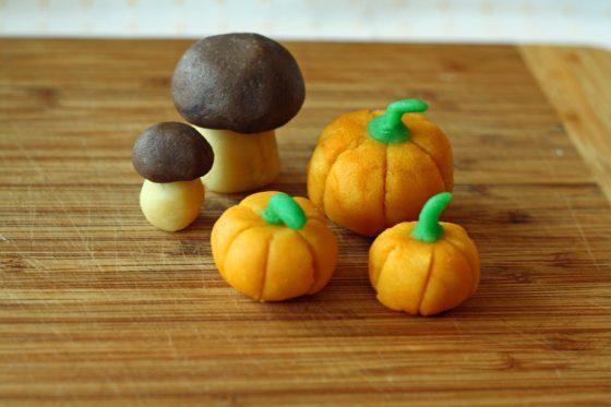 figūrėlės iš marcipano