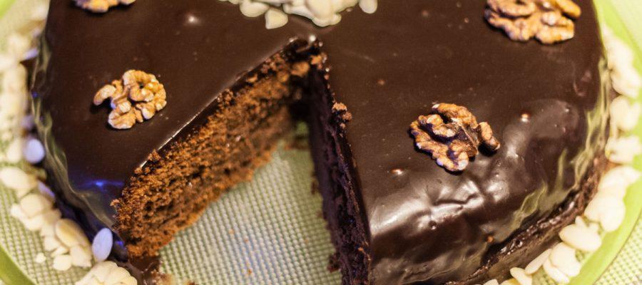 Zacherio tortas, gimtadienio mugė