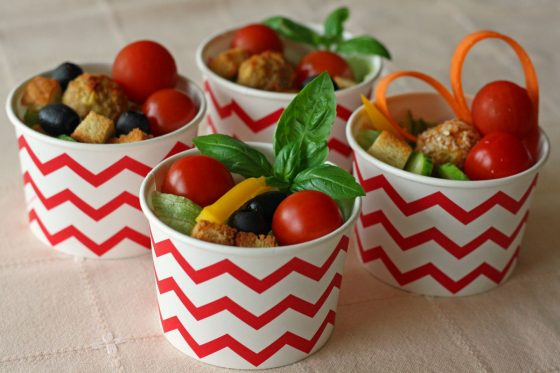 daržovės vaikų gimtadieniui