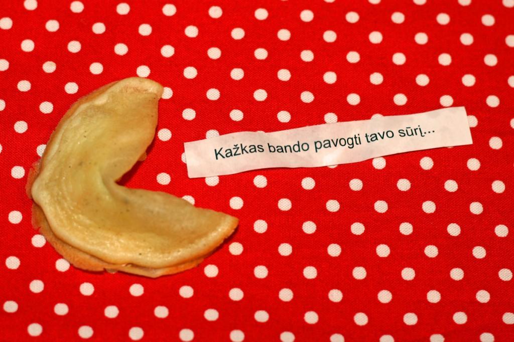 Kaip iškepti laimės sausainius