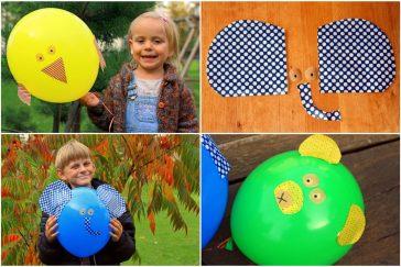 linksmi balionai vaiko gimtadieniui