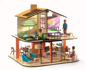 DJeco lėlių namas