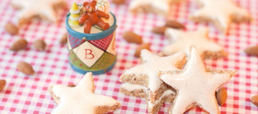 Kalėdų žvaigždės iš migdolų, kalėdiniai migdoliniai sausainiai