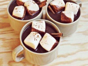 karštas šokoladas šventei