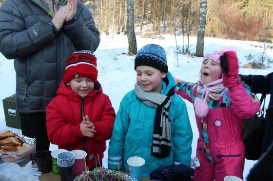 vaišės gryname ore žiemą