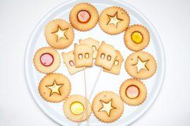 vitražiniai sausainiai vaiko gimtadieniui