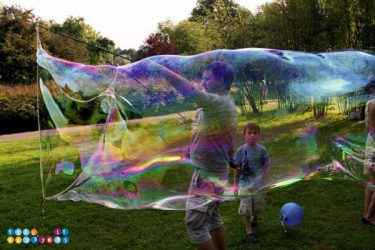 burbuliatorius vaiko gimtadieniui