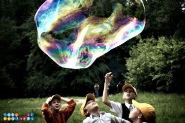 dideli muilo burbulai
