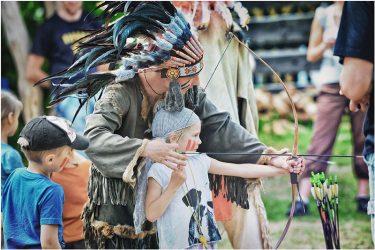 Gimtadienis su indėnais