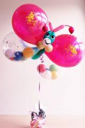 drugelis iš balionų