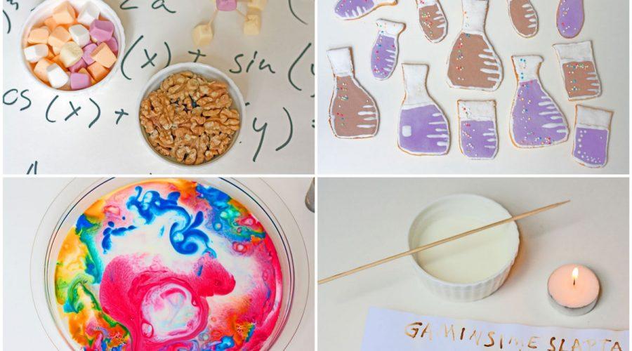 Mažojo mokslininko gimtadienis vaikams