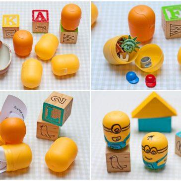 plastikiniai kinder kiaušiniai idėjos gimtadienio mugė