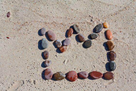 ką vaikams veikti pliaže