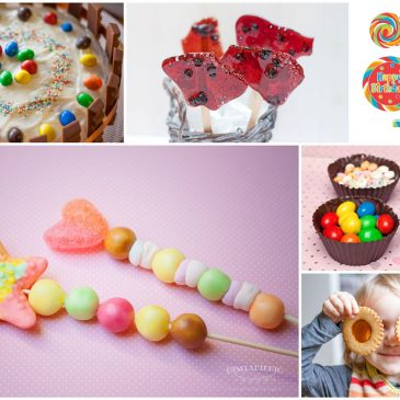 gimtadienis saldainių tema kaip papuošti vaikų šventę saldainiais