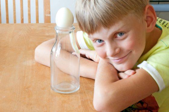 mokslo bandymai vaikams