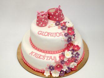 krikstynu tortas pagal užsakymą