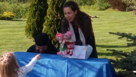 lėlių spektakliukas vaikų šventei