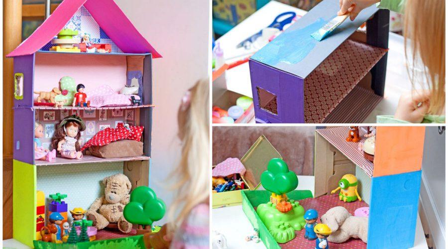 lėlių namas kaip jį greiati pastatyti gimtadienio mugė