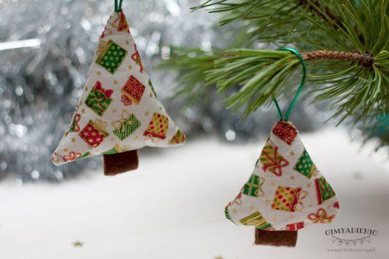 kalėdinės eglutės papuošimai