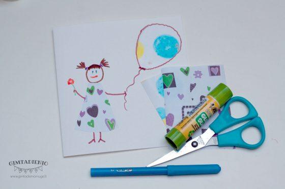 kaip panaudoti naudotą dovanų popierių