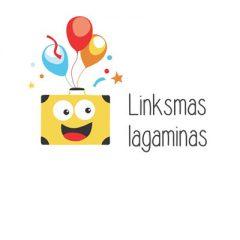 linksmas lagaminas logo