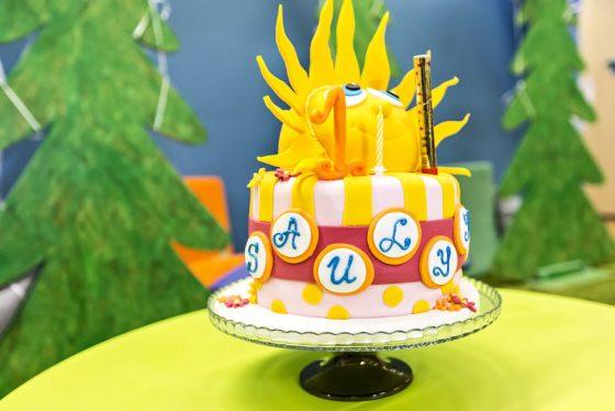 saulės tortas