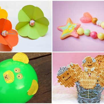 vaikams vietoe gėlių arba mažų dovanėlių idėjos