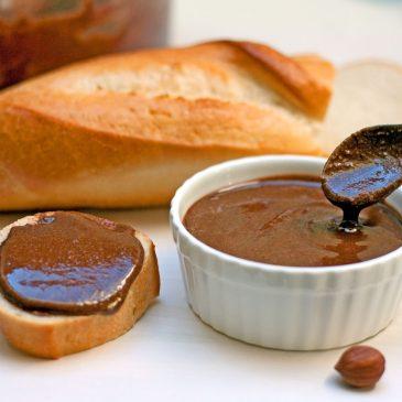 naminės nutella šokoladinis lazdyno riešutų sviestas
