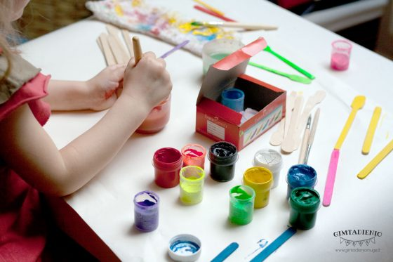 kūrybiniai vaikų darbeliai