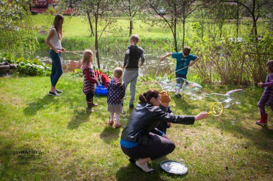 muilo burbulai vaiko gimtadieniui