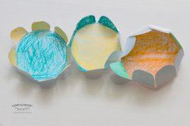 popierinės gėlės eksperimentai darželinukams