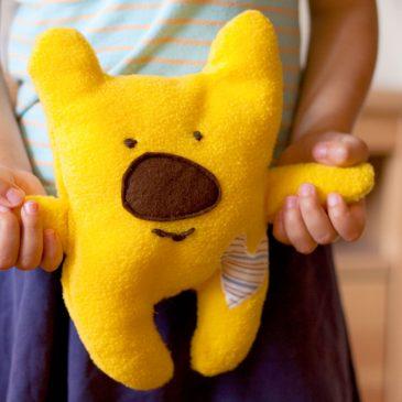 Siūti žaislai – meškiukas paprastai ir greitai