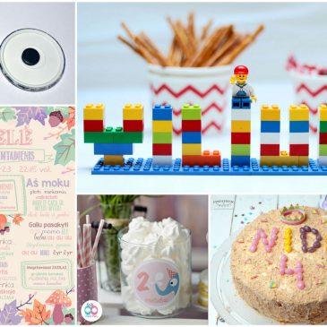 kaip personaliuoti suasmeninti vaiko gimtadienį