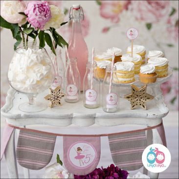 mergaitės gimtadienis dekoravimas