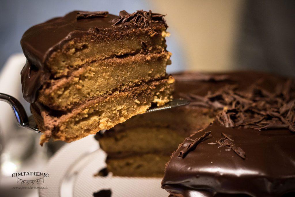 tortas iš moliūgų