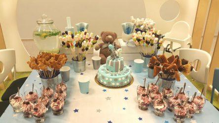 vaikų gimtadienio stalas