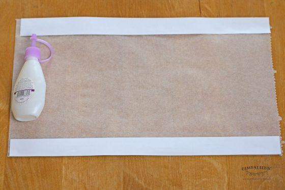 dekoracijos iš kepimo popieriaus