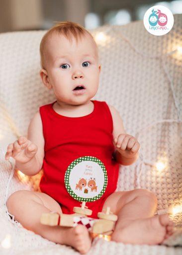 kalėdinė apranga kūdikiui