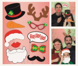 kalėdiniai naujametiniai aksesuarai fotosesijai