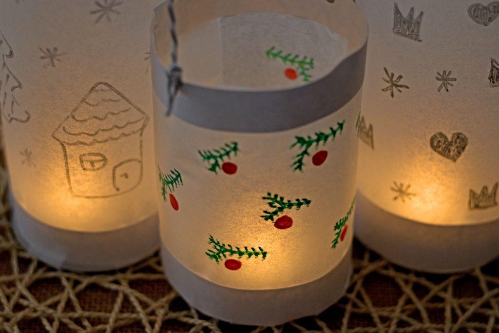 kūrybiniai darbeliai vaikams žiema kalėdos adventas