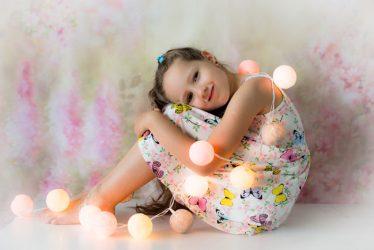 vaikų švenčių fotografė